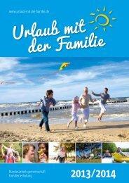 Katalog als PDF - Urlaub mit der Familie