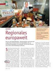 Regionales europaweit