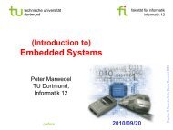 Embedded Systems - TU Dortmund