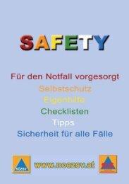 Safety Ratgeber Sicherheit für alle Fälle (pdf)