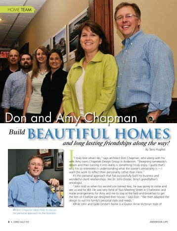 bEAUtiFUl hOMES - Chapman Designs