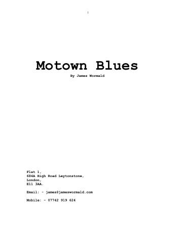 motown blues script.pdf - London Me Up