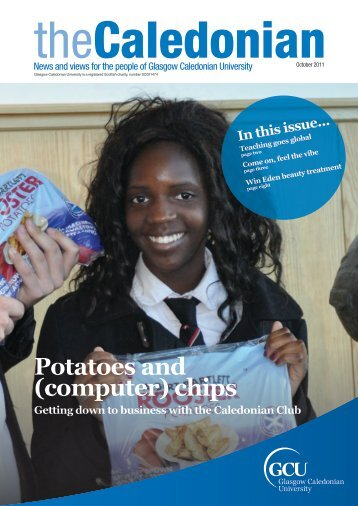 Potatoes and (computer) chips - Glasgow Caledonian University