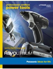 power tools - Panasonic