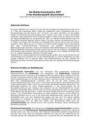 Waldschutzbericht 2007 der Biologischen Bundesanstalt ... - BMELV