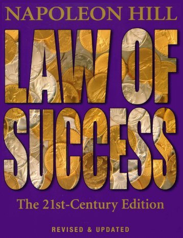 Hill-Napoleon Law of Success 21st Century Edition