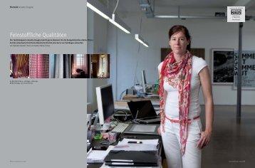 Feinstoffliche Qualitäten - Annette Douglas
