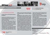 INFOBRIEF # 2 - Marketing zwischen Theorie und Praxis eV