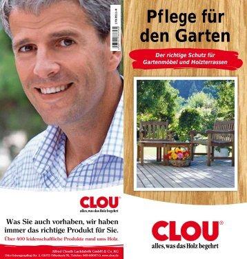 Pflege für den Garten - CLOU.de