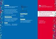 3. Symposium - Fachverband Medienabhängigkeit eV