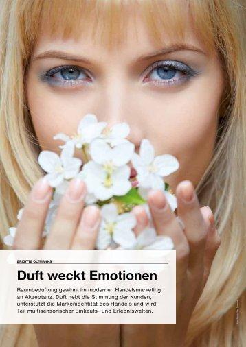 Duft weckt Emotionen - Cosmoscent
