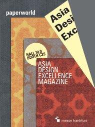 asia design excellence magazine - German Design Council
