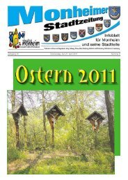 Stadtzeitung 2011-04-21.pdf - Stadt Monheim