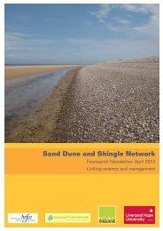 Sand Dune and Shingle Network - Liverpool Hope University