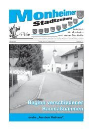 Stadtzeitung Monheim_2005-08-26.pdf - Stadt Monheim