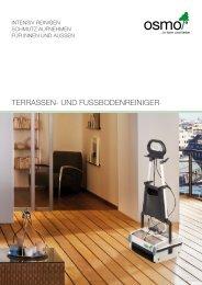 Terrassen- und Fussbodenreiniger - Osmo