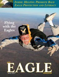 Flying with the Eagles - American Eagle Foundation