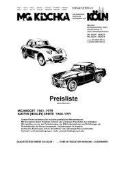 Sprite/Midget-Preisliste (PDF) - Kischka