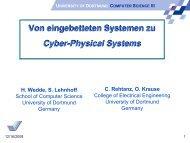 Von eingebetteten Systemen zu Cyber-Physical Systems