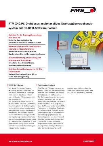 Datenblatt (PDF) - FMS AG