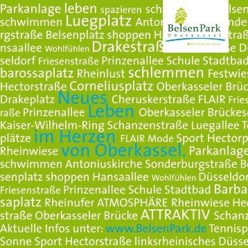Broschüre Belsenpark Oberkassel - Duesseldorf-realestate.de