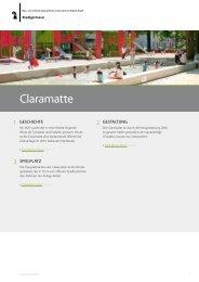 Claramatte - Stadtgärtnerei - Kanton Basel-Stadt
