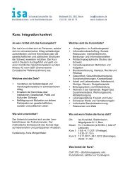 Kurs: Integration konkret