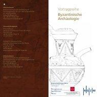 Vortragsreihe Byzantinische Archäologie - Johannes Gutenberg ...