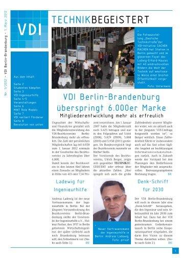 Heftform mit A3-Seiten, PDF-Datei, 429 KB - (VDI) Berlin-Brandenburg