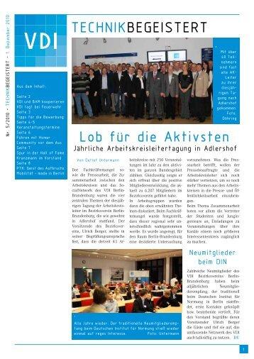 A4-Einzelseiten, PDF-Datei, 432 KB - (VDI) Berlin-Brandenburg