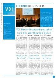 als A3-Heft - (VDI) Berlin-Brandenburg