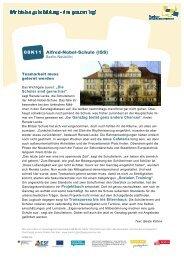 Alfred-Nobel-Schule - Ganztägig Lernen - Berlin