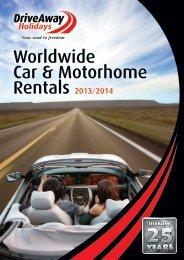 Worldwide Car & Motorhome Rentals 2013/2014 - DriveAway ...