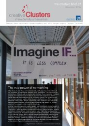 the creative brief 07 The true power of networking - inteli