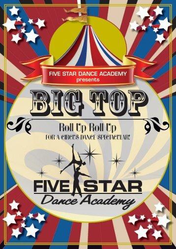 Roll Up Roll Up - five star dance academy