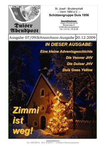 St. Josef – Bruderschaft – Venn 1884 E.V. - Original Duiser ...