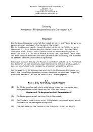 Satzung - Freie Montessori Schule Darmstadt