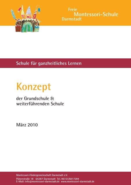 Konzept Freie Montessori Schule Darmstadt