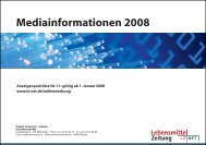Werbeformen im LZ | NET Newsletter - Isler Annoncen AG