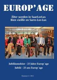 zum Inhalt der Ausgabe 2012_2Jubiläumsfeier 25 Jahre Europ