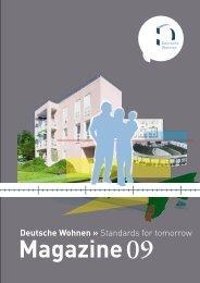 Magazine 09 - Investor Relations - Deutsche Wohnen