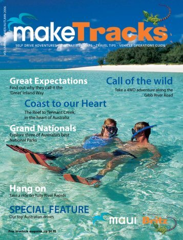 Call of the wild Coast to our Heart SPECIAL FEATURE - makeTracks