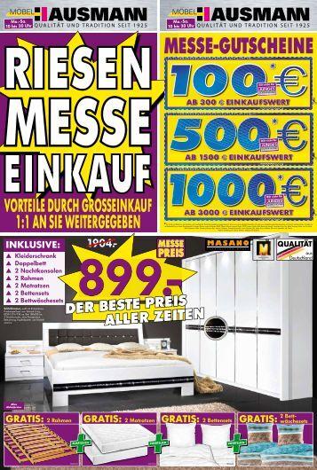 1:1 AN SIE WEITERGEGEBEN - Möbel Hausmann
