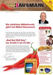Red Hot Chili Day - Möbel Hausmann