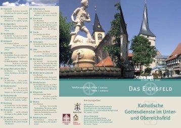 Das Eichsfeld - Bistum Hildesheim