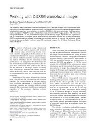 Working with DICOM craniofacial images - Dr. Dan Grauer