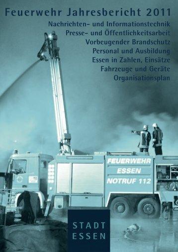 Jahresbericht 2011 - Berufsfeuerwehr Essen