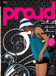 Pedal To The Medal Oliver Koletzki Andrea Rosso - PROUD Magazine