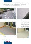 Direkt begehbare Abdichtungen auf Balkonen oder ... - Iso-San AG - Seite 2