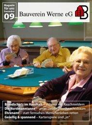 Mitgliederzeitung 2009/12 - Bauverein Werne eG